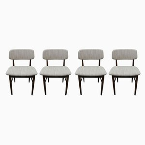 Teak Dining Chairs from Mahjongg, 1971, Set of 4