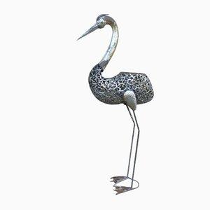 Vintage Vogel Gartenskulptur