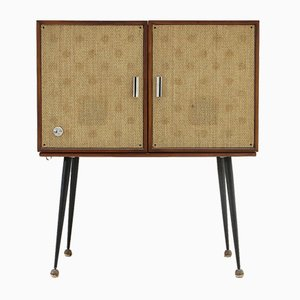 Mid-Century Stereo Cabinet with Record Player from Philco, 1950s