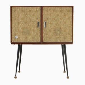 Mueble con tocadiscos Mid-Century de Philco, años 50