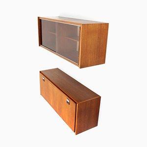 Mid-Century Sideboards von Fratelli Cervi, 1950er, 2er Set