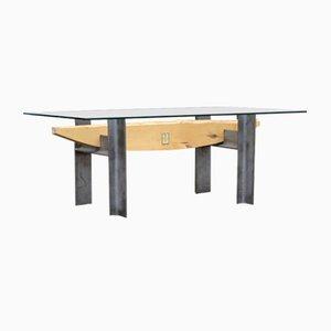 Tavolino da caffè industriale di Mats Olsson per Mobel Form, anni '90