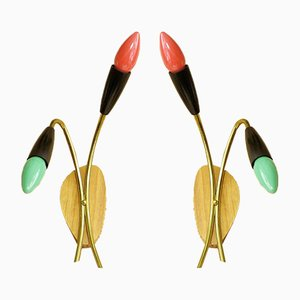 Spider Sconces, 1950s, Set of 2