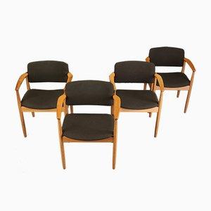 Armlehnstühle von Farso Stolefabrik, 1960er, 4er Set