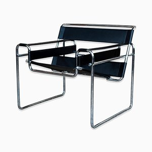 Wassily Armchair by Marcel Breuer for Gavina, 1972