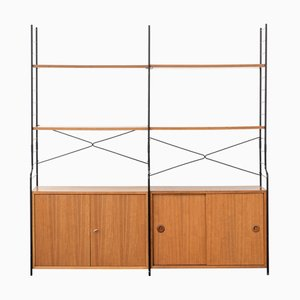 Vintage German Modular Shelving Unit from WHB, 1970s