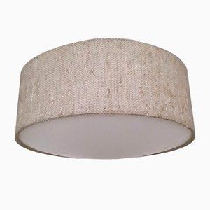 Lampada da soffitto vintage in lana e plastica di Luxus, anni '70