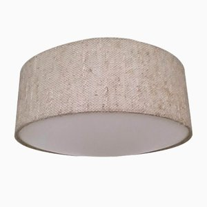Vintage Wool & Plastic Ceiling Lamp from Luxus, 1970s