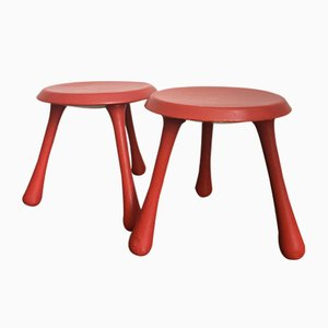 Stools by Ingvar Kamprad for Habitat, 1990s, Set of 2