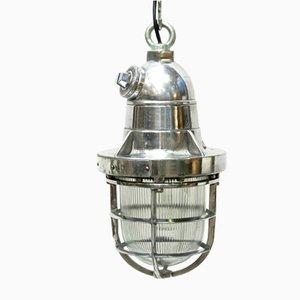 Deckenlampe aus Aluminium, 1970er