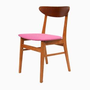 Danish Model The Smile Teak Dining Chair from Farstrup Møbler, 1960s