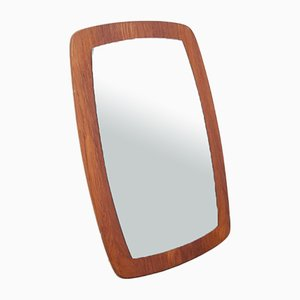 Teak Overmantel Mirror, 1970s