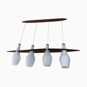 Lámpara de suspensión de Jean Rispal para Rispal, años 60