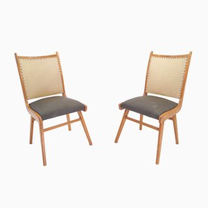 Vintage Side Chairs, 1950s, Set of 2