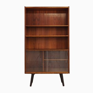 Vintage Danish Rosewood Bookcase, 1970s