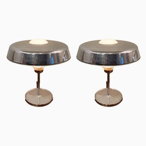 RO Table Lamps by BBPR STUDIO for Artemide, 1962, Set of 2