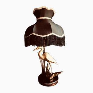 Große französische Tischlampe, 1970er
