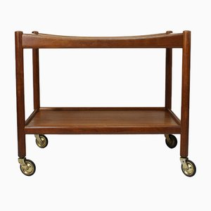 Vintage Teak AT 45 Trolley by Hans J. Wegner for Andreas Tuck, 1950s