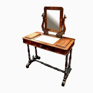 Antique Walnut Dressing Table