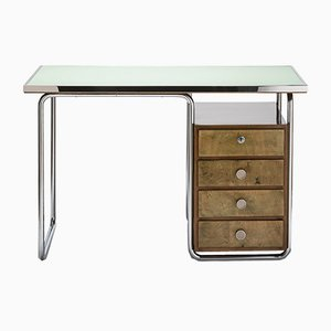 Vintage Bauhaus Style Desk by Marcel Breuer for Thonet Mundus