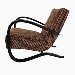 Vintage H-269 Lounge Chair by Jindřich Halabala for UP Závody, 1940s