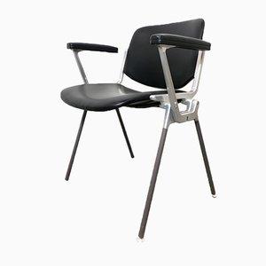 DSC 106 Desk Chair by Giancarlo Piretti for Anonima Castelli and Castles, 1960s