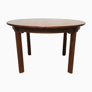 Round Danish Teak Dining Table from Gudme Møbelfabrik, 1960s