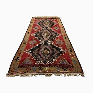 Vintage Turkish Wool Kilim Rug, 1960s