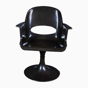 Chaise Pivotante en Plastique, années 70