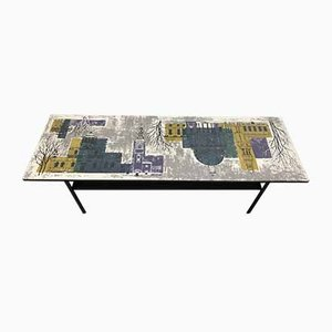 Mid-Century Coffee Table by John Piper for Terence Conran, 1960s