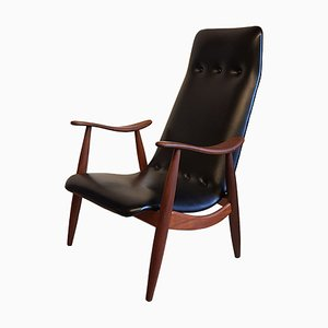 Armchair by Louis van Teeffelen for WéBé, 1960s