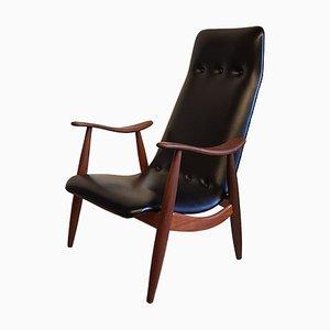 Armlehnstuhl aus von Louis van Teeffelen für WéBé, 1960er