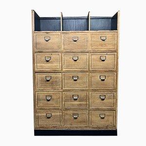Mueble con solapas vintage de notario