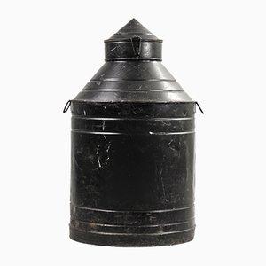 Schwarzer großer Behälter, 1960er