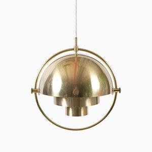 Lampada da soffitto vintage di Louis Weisdorf per Lyfa