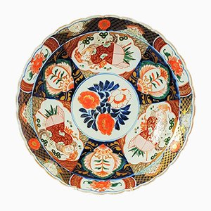 Large Antique Japanese Bowl from Yamatoku