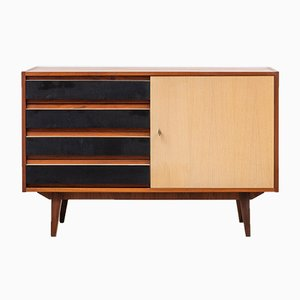 Vintage Walnut Chest of Drawers, 1960s