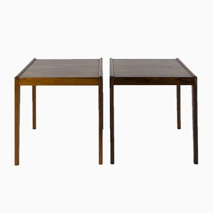 Mid-Century Danish Rosewood Side Tables, Set of 2