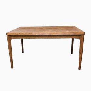Oak Dining Table by Henning Kjærnulf for Vejle Mobelfabrik, 1960s
