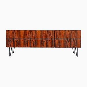 Mueble de salón de palisandro, años 60