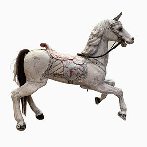 Antique German Carousel Horse by Frederich Heyn