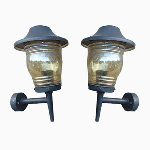 Vintage Sconces, Set of 2