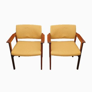 Rosewood Armchairs from Svegards, 1960s, Set of 2