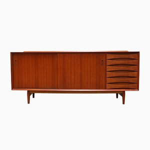 Mid-Century Danish OS29 Teak Sideboard by Arne Vodder for Sibast