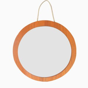 Scandinavian Teak Wall Mirror, 1960s