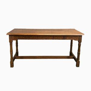 Tavolino da caffè vintage in quercia, anni '50
