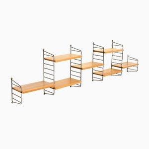 Small Shelf System by Strinning, Kajsa & Nils ''Nisse'' for String, 1958