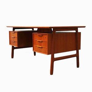 Modell 75 Schreibtisch von Gunni Omann für Omann Jun, 1950er