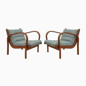 Vintage Sessel von Kozelka & Kropacek für Interier Praha, 2er Set