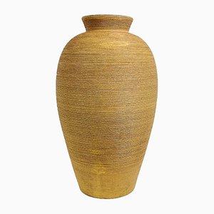 Große schwedische Art Déco Vase von Upsala Ekeby, 1940er